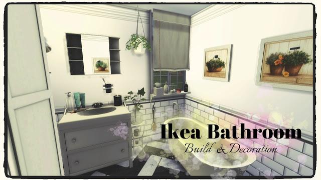 Bathroom (Build & Decoration) at Dinha Gamer image 1763 Sims 4 Updates