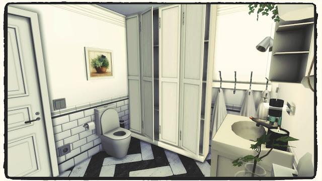 Bathroom (Build & Decoration) at Dinha Gamer image 1773 Sims 4 Updates