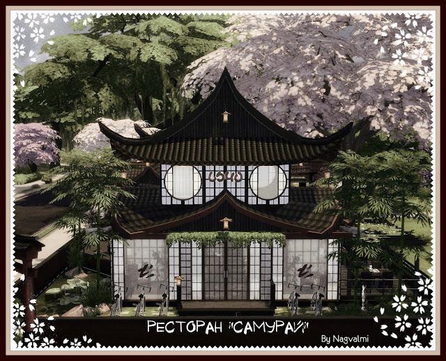Samurai restaurant at Nagvalmi image 1781 Sims 4 Updates