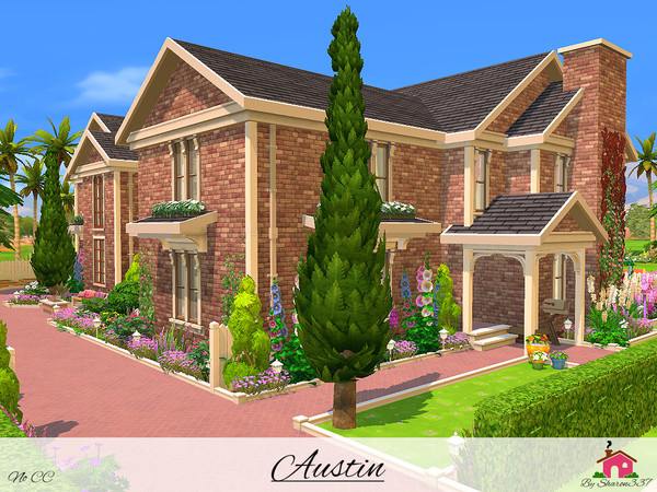 Sims 4 Austin house by sharon337 at TSR
