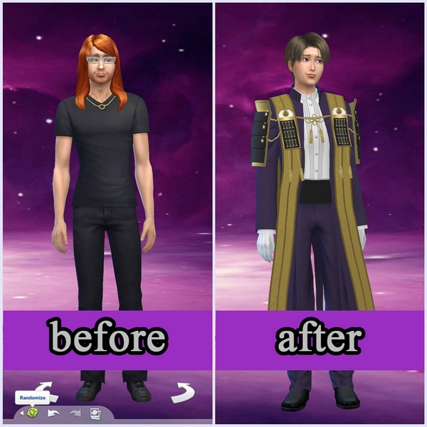 Heshikiri Hasebe at NG Sims3 image 1802 Sims 4 Updates