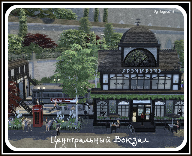 Central station at Nagvalmi image 1831 Sims 4 Updates