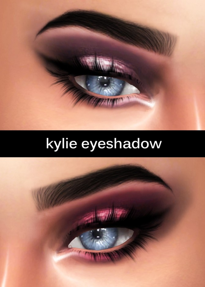 Kylie Eyeshadow at Kenzar Sims image 185 670x938 Sims 4 Updates