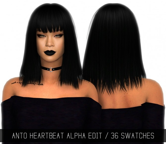 Sims 4 ANTO HEARTBEAT ALPHA EDIT at Simpliciaty