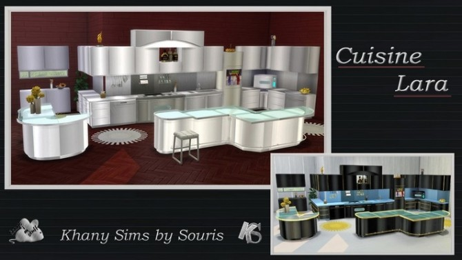 LARA kitchen by Souris at Khany Sims image 1901 670x377 Sims 4 Updates