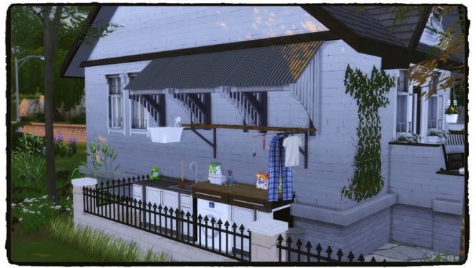 Sims 4 Small but Cozy House at Dinha Gamer