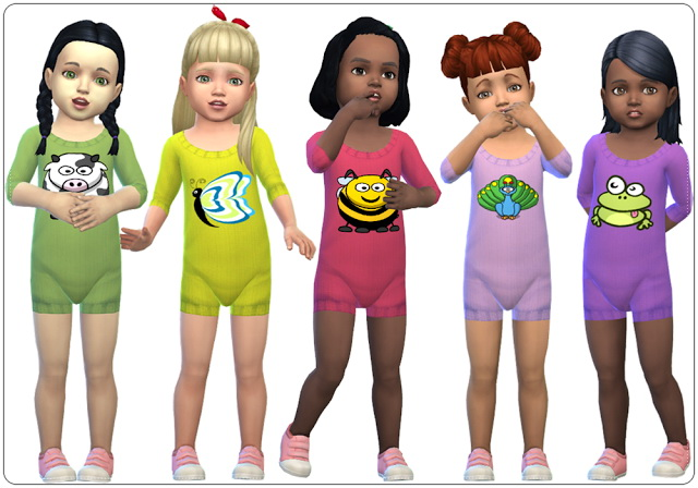 Accessory Knitted Bodysuits for Toddlers at Annett's Sims 4 Welt image 1905 Sims 4 Updates