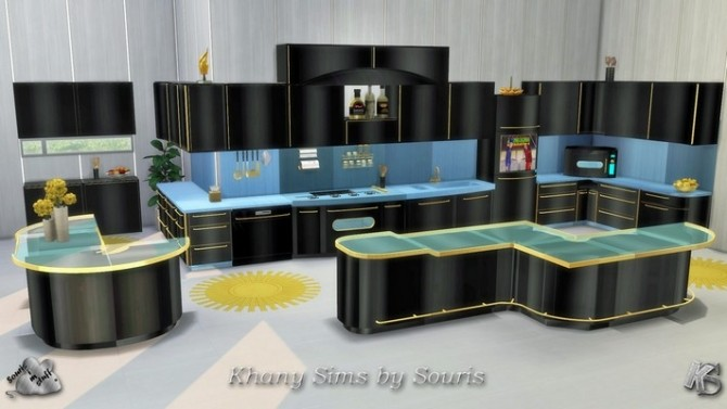 LARA kitchen by Souris at Khany Sims image 1911 670x377 Sims 4 Updates