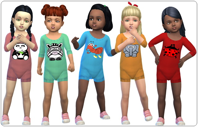 Accessory Knitted Bodysuits for Toddlers at Annett's Sims 4 Welt image 19112 Sims 4 Updates