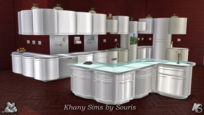 LARA kitchen by Souris at Khany Sims image 1921 670x377 Sims 4 Updates