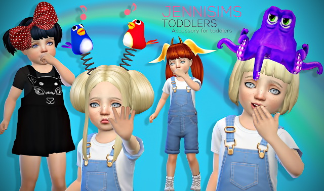 Sims 4 Set for Toddlers (4Acc) Vol3 at Jenni Sims