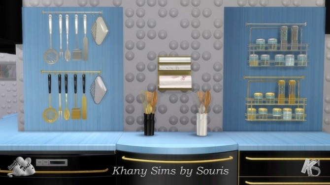 LARA kitchen by Souris at Khany Sims image 1931 670x377 Sims 4 Updates