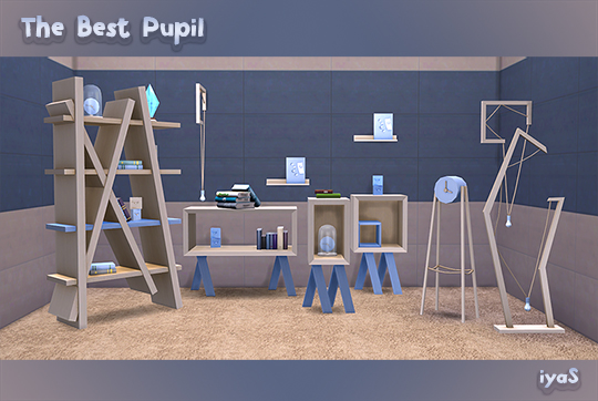 The Best Pupil set at Soloriya image 1941 Sims 4 Updates