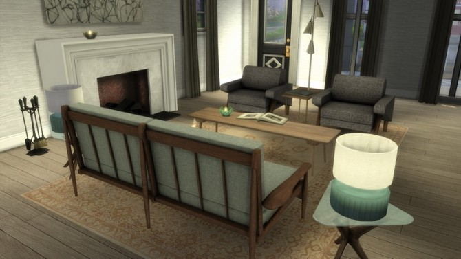 Where The Heart Is set at Baufive – b5Studio image 1973 670x377 Sims 4 Updates
