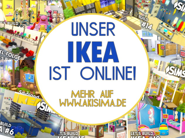 IKEA Lets Build series: lot and CC at Akisima image 20114 Sims 4 Updates