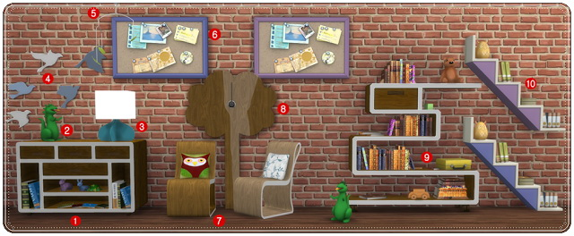 TS3 to TS4 Conversion Kidsroom Playroom at Annett's Sims 4 Welt image 2025 Sims 4 Updates