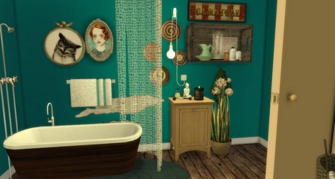 Sims 4 Vintage Bathroom at Pandasht Productions