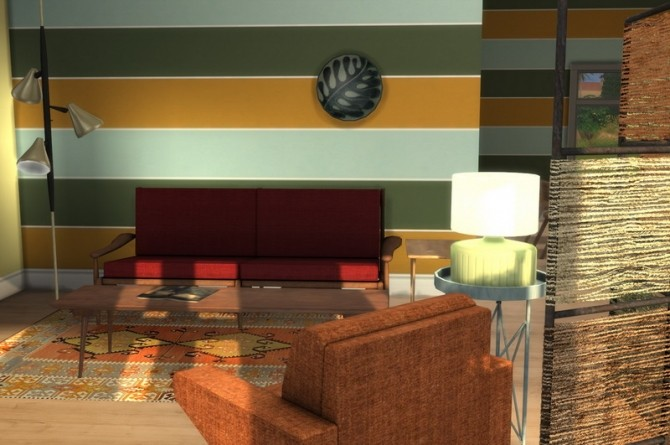 Sims 4 Where The Heart Is set at Baufive – b5Studio