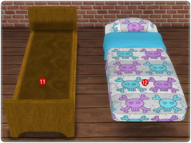 TS3 to TS4 Conversion Kidsroom Playroom at Annett's Sims 4 Welt image 2035 Sims 4 Updates