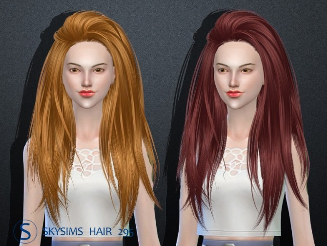 Skysims hair af 295 (Pay) at Butterfly Sims image 2071 670x503 Sims 4 Updates