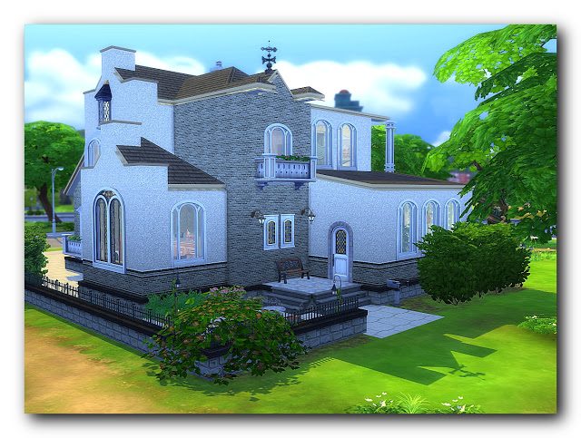 Shades of biedermeier house at Architectural tricks from Dalila image 2076 Sims 4 Updates