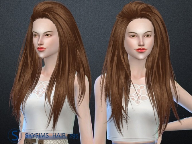 Skysims hair af 295 (Pay) at Butterfly Sims image 2081 670x503 Sims 4 Updates