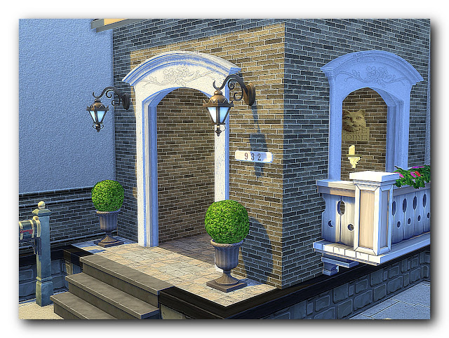 Shades of biedermeier house at Architectural tricks from Dalila image 2085 Sims 4 Updates