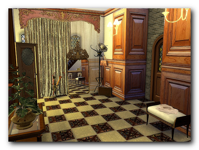 Shades of biedermeier house at Architectural tricks from Dalila image 2095 Sims 4 Updates