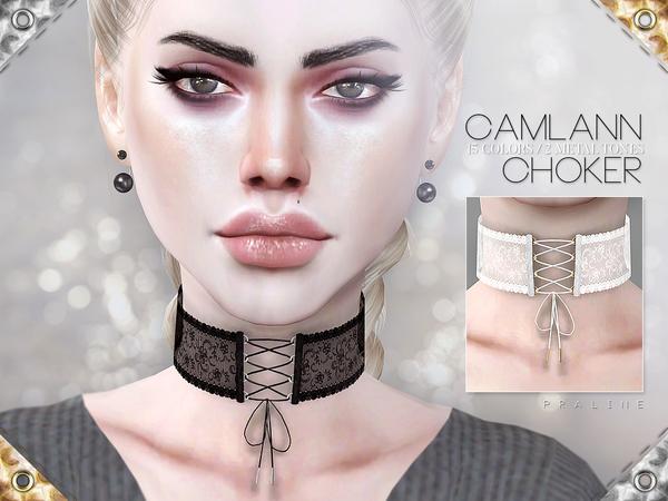 Camlann Choker by Pralinesims at TSR image 2103 Sims 4 Updates