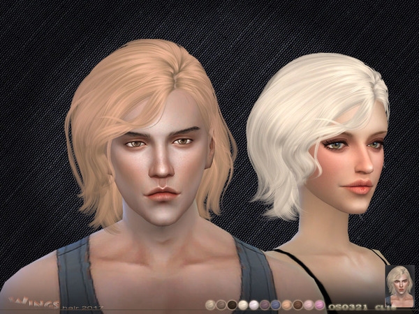 OS0321 hair by wingssims at TSR image 2109 Sims 4 Updates