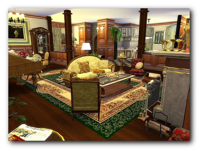 Shades of biedermeier house at Architectural tricks from Dalila image 21112 Sims 4 Updates