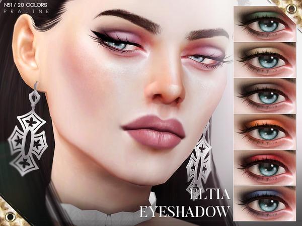 Eltia Eyeshadow N51 by Pralinesims at TSR image 2117 Sims 4 Updates