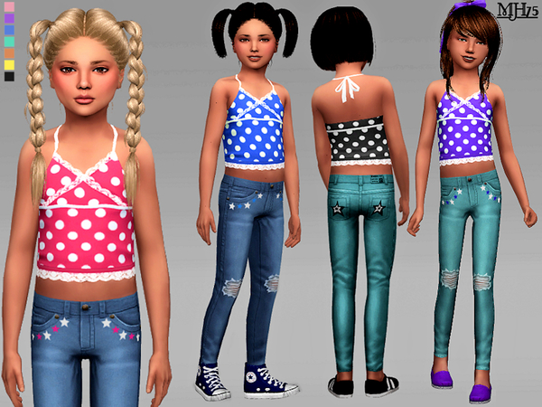 Sims 4 Spring Child Outfit by Margeh 75 at TSR