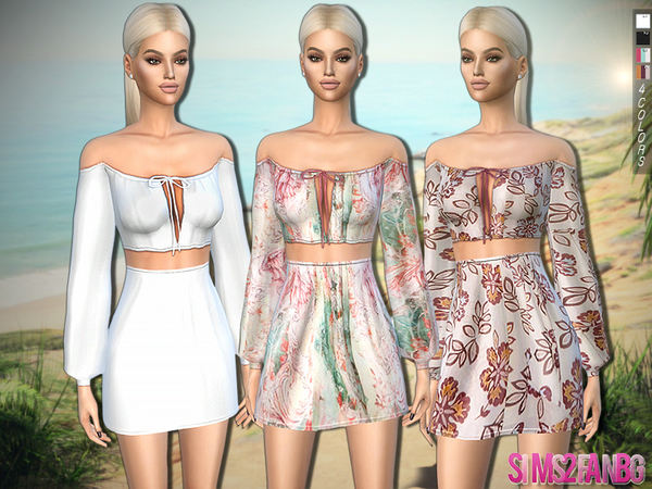 318 Summer Outfit by sims2fanbg at TSR image 2137 Sims 4 Updates