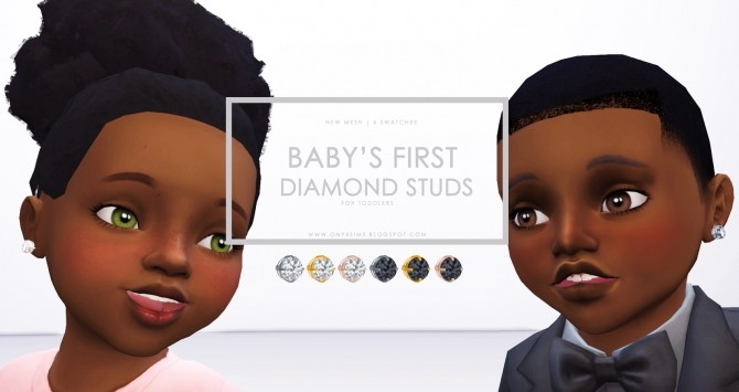 Babys First Diamond Studs at Onyx Sims image 2151 670x355 Sims 4 Updates