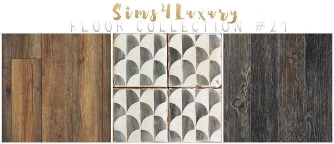 Floor Collection #21 at Sims4 Luxury image 2171 670x289 Sims 4 Updates