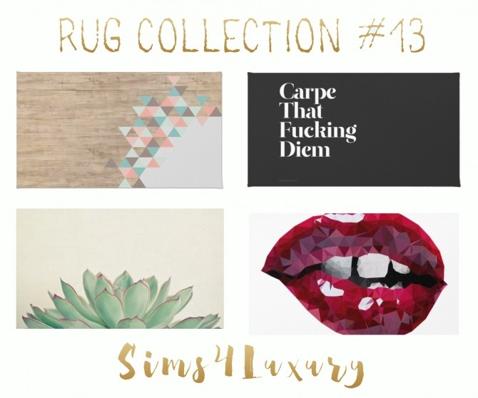 Rug Collection #13 at Sims4 Luxury image 2181 670x558 Sims 4 Updates