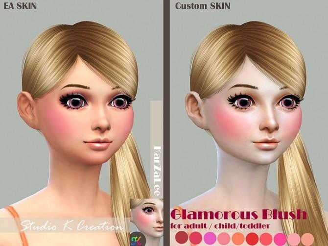 Glamorous Blush at Studio K Creation image 22110 670x502 Sims 4 Updates