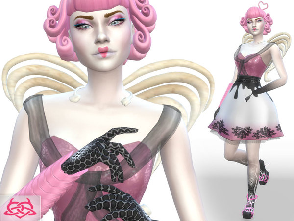 Monster High Cupido set by Colores Urbanos at TSR image 2212 Sims 4 Updates