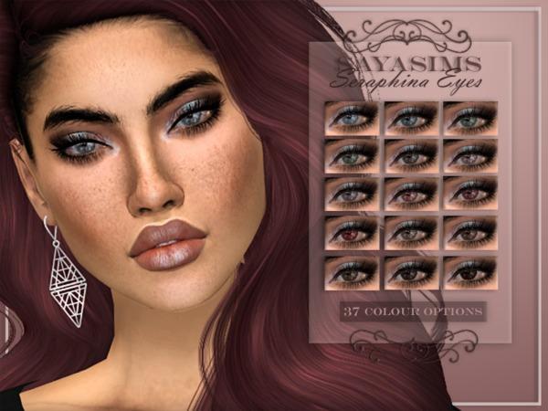 Sims 4 Seraphina Eyes by SayaSims at TSR