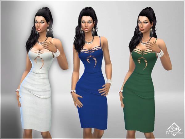 Sober Dress Pencil by Devirose at TSR image 2220 Sims 4 Updates