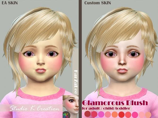 Glamorous Blush at Studio K Creation image 2223 670x502 Sims 4 Updates