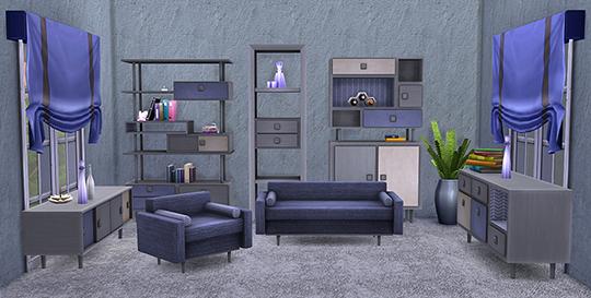 Retro Living Room at Soloriya image 2232 Sims 4 Updates