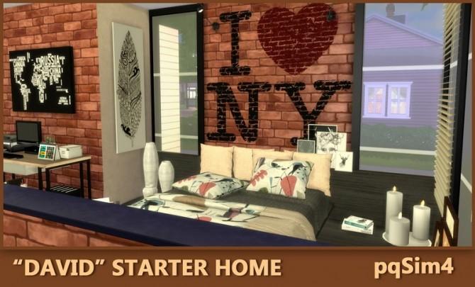 Sims 4 David Starter Home at pqSims4