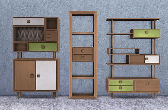 Retro Living Room at Soloriya image 2241 Sims 4 Updates