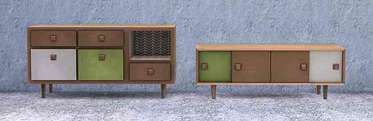 Retro Living Room at Soloriya image 2251 Sims 4 Updates