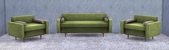 Retro Living Room at Soloriya image 2261 Sims 4 Updates