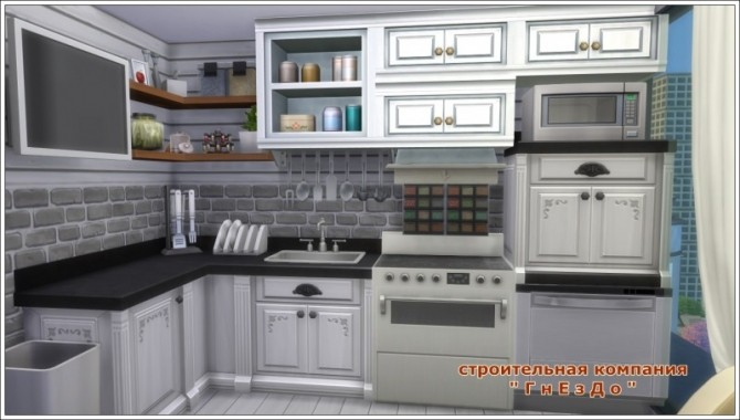 Remaking Kitchen Chic 21 1312 at Sims by Mulena image 2272 670x380 Sims 4 Updates