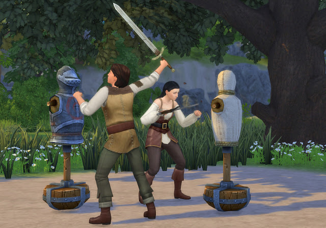 Practice Sword Fighting Mod at Historical Sims Life image 2283 Sims 4 Updates