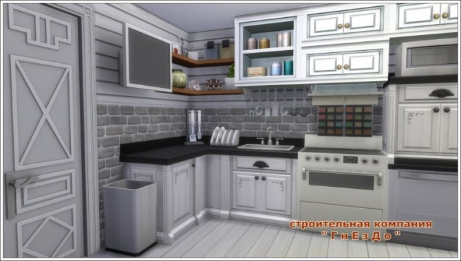 Remaking Kitchen Chic 21 1312 at Sims by Mulena image 2292 670x380 Sims 4 Updates